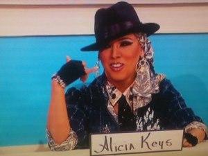 Alexis Mateo as Alicia Keyes
