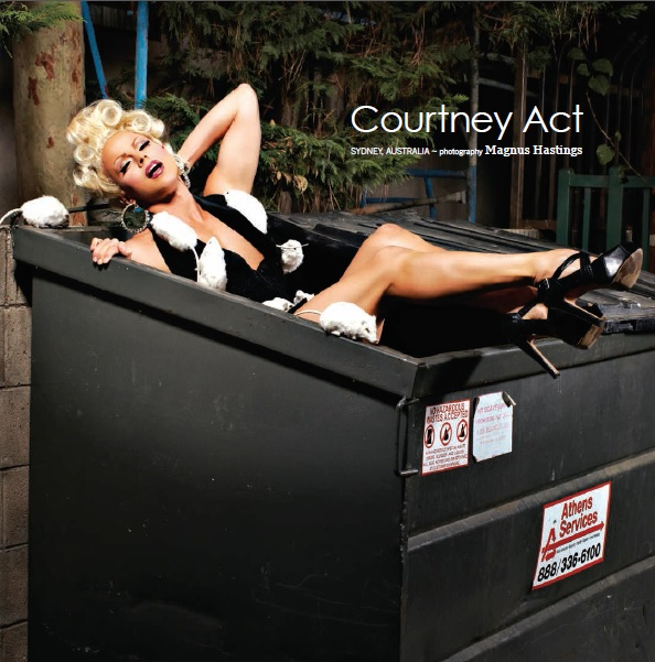 Courtney Act dr.a.g.