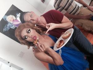 Shangela and Alyssa Edwards