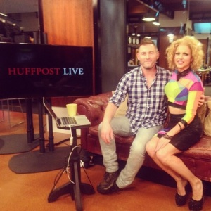 Courtney Act HuffPost Live