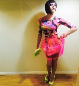 Ganja Plastic Skirt