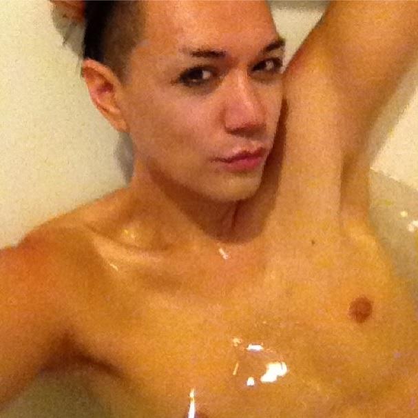Bathing Manila