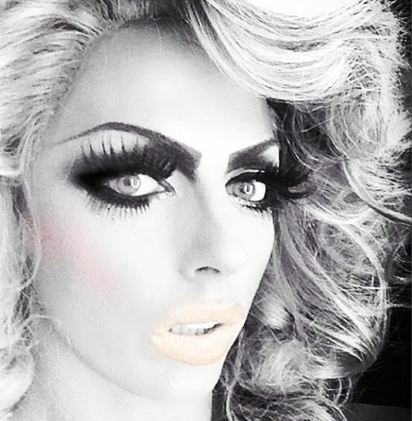 Black & White Beauty Alyssa Edwards