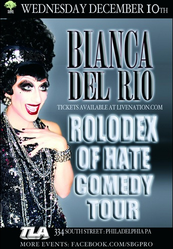 Bianca's Rolodex of Hate Philly
