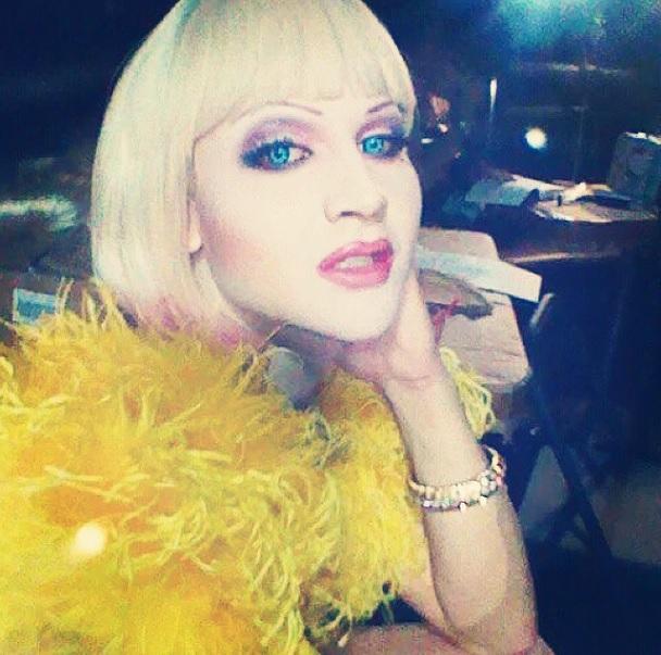 Blonde Bombshell Venus