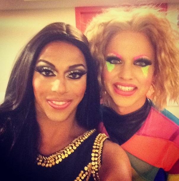 Shangela & Courtney